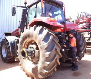 Farm Machinery Service at Hutton & Northey Sales