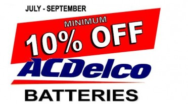 ACDelco Battery Sale