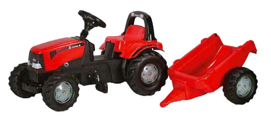 CVX 1170 Pedal Tractor with trailer