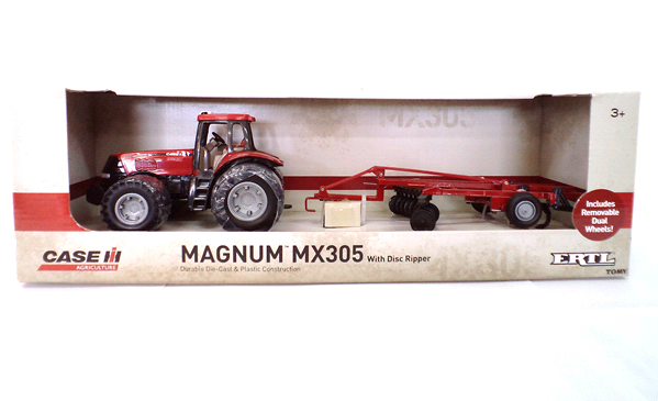 """8"""" MX305 with Disc Ripper. Case IH Toys"""