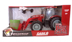 Puma® 180 Tractor with Front Bale Mover. Case IH Toys