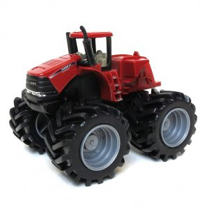 "5"" Monster Treads 4WD Tractor. Case IH Toys"